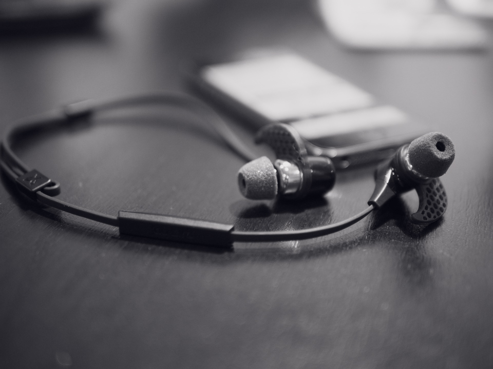 JayBird BlueBuds X with Comply Foam Active Tips