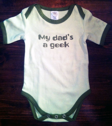 My Dad's a Geek Onesie