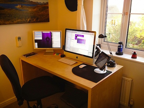 Andrew Pepperrell's Sweet Mac Setup