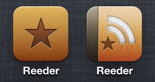 Reeder Icons: New and Old